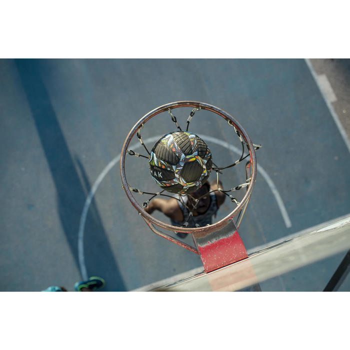 Ballon de Basketball adulte Tarmak 500 Magic Jam taille 7 - 1417408