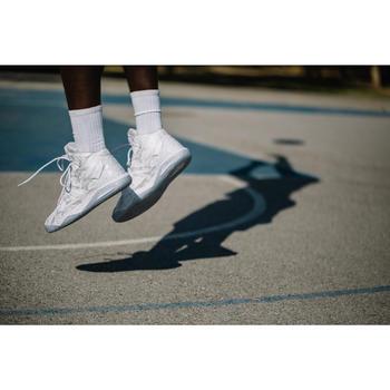 Basketbalschoenen heren/dames gevorderde Strong 500 wit
