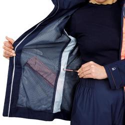 Veste imperméable de voile femme SAILING 300 Navy