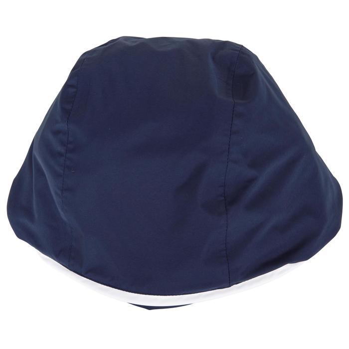 Chaqueta Cortaviento Impermeable Barco Vela Tribord 100 Mujer Azul Marino