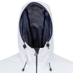 Veste imperméable de voile femme SAILING 100 Blanc
