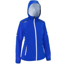 Softshell jas Wedstrijdzeilen voor dames, felblauw