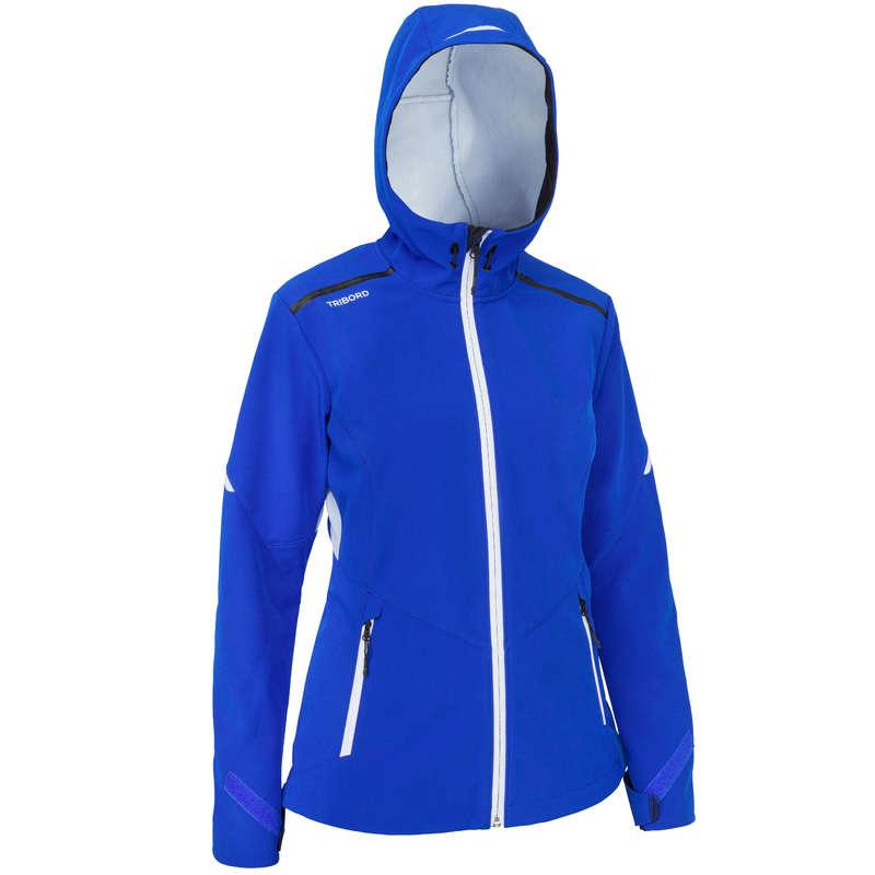 REGATTA COLD WEATHER WOMAN CLOTHES Sailing - Softshell Race Women Bri.Blue TRIBORD - Sailing Clothing