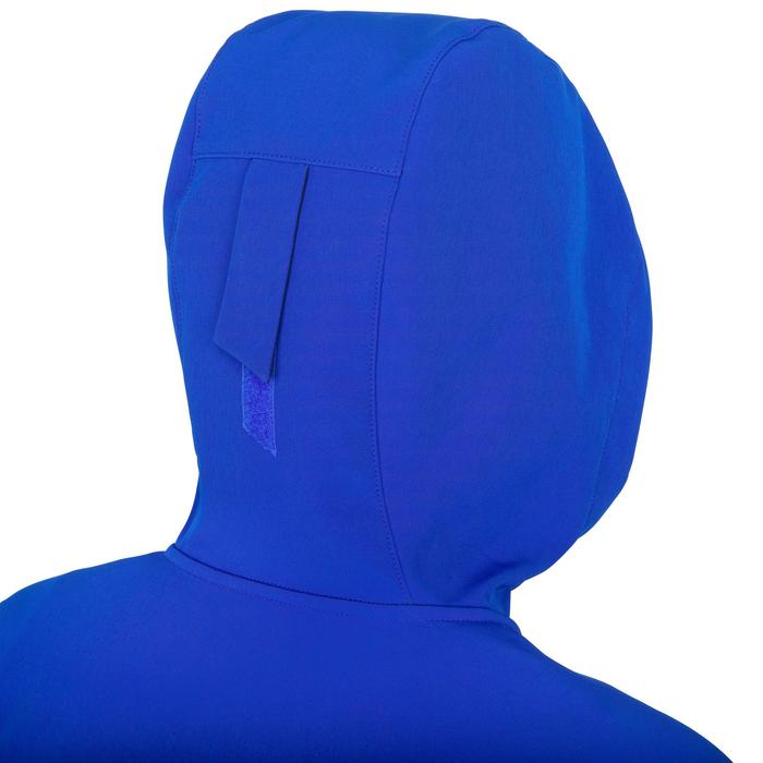Softshelljacke Segeln Race Damen leuchtendblau