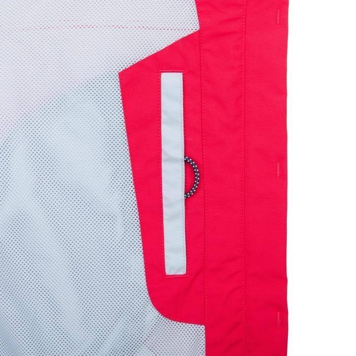 Chaqueta impermeable de vela mujer 100 rosa