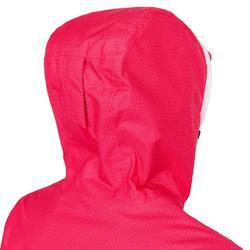 女款防水航海外套Sailing 100-粉紅色