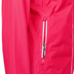 Veste imperméable de voile femme SAILING 100 All over rose