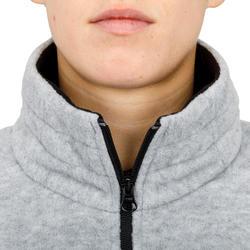 Polaire de régate femme COURSE gris chiné.