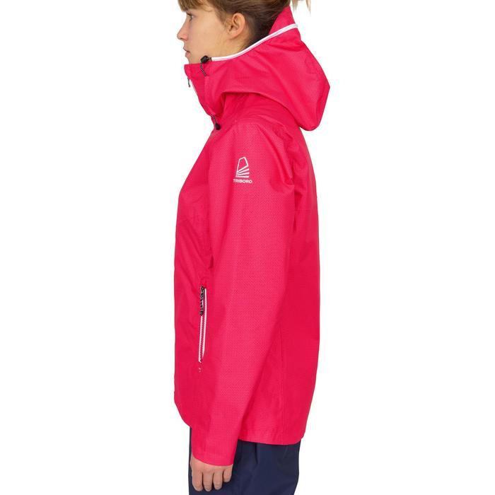 Waterdichte zeiljas voor dames Sailing 100 allover print roze