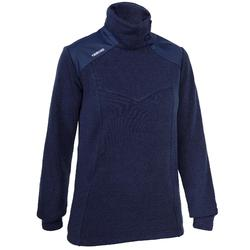 Segelpullover warm Sailing 500 Damen marineblau