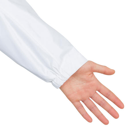 Veste imperméable de voile femme VOILE 100 Blanche