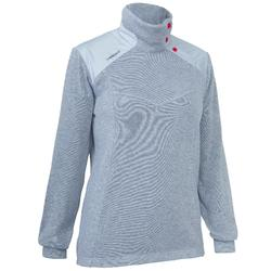 Pull marin chaud femme SAILING 100 Gris