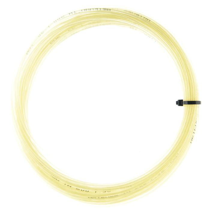 CORDAGE DE TENNIS MULTIFILAMENTS TA 500 1,3mm BEIGE - 1417690