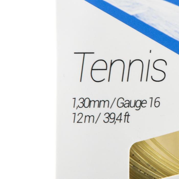CORDAGE DE TENNIS MULTIFILAMENTS TA 500 1,3mm BEIGE - 1417691