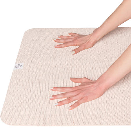 Matras Karet Yoga 4 mm - Beige
