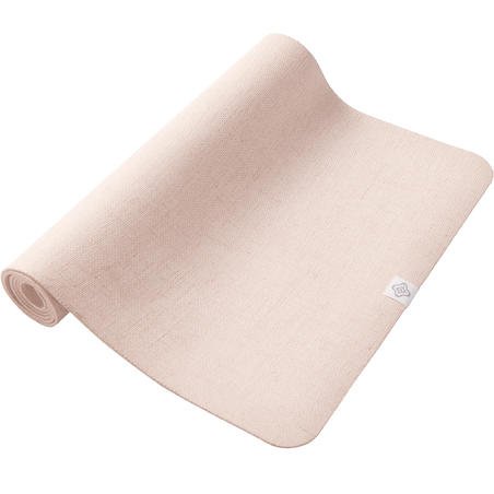 Rubber & Jute Yoga Mat 4 mm