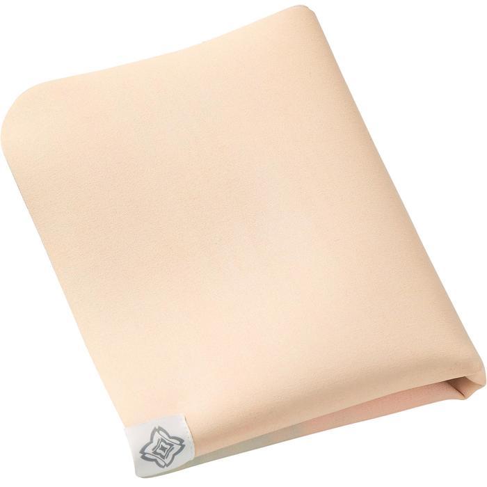 Opvouwbare yogamat / oplegmat 1,5 mm dik rubber wolkenprint