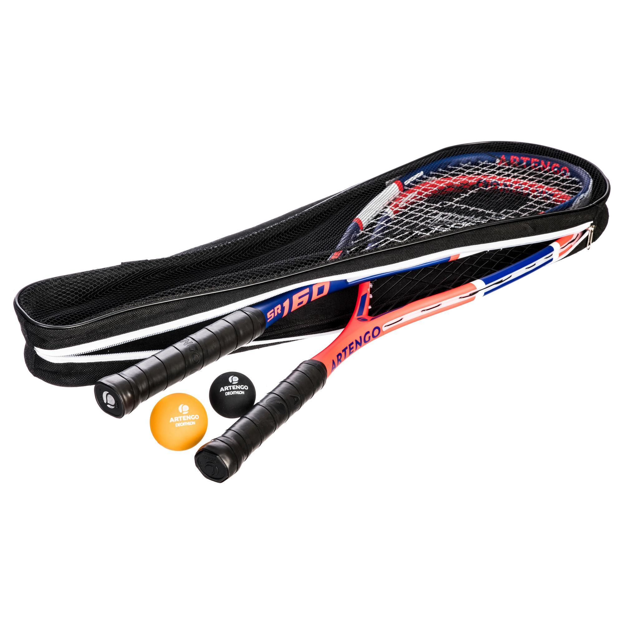 597293dd9773bc Artengo SET SQUASHRACKET SR 160 FAMILY (2 RACKETS