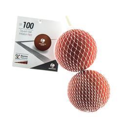 Squashbälle SB 100 Einsteiger rot