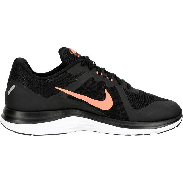 Chaussure de jogging course à pied femme NIKE DUAL FUSION X2 noir - 141792