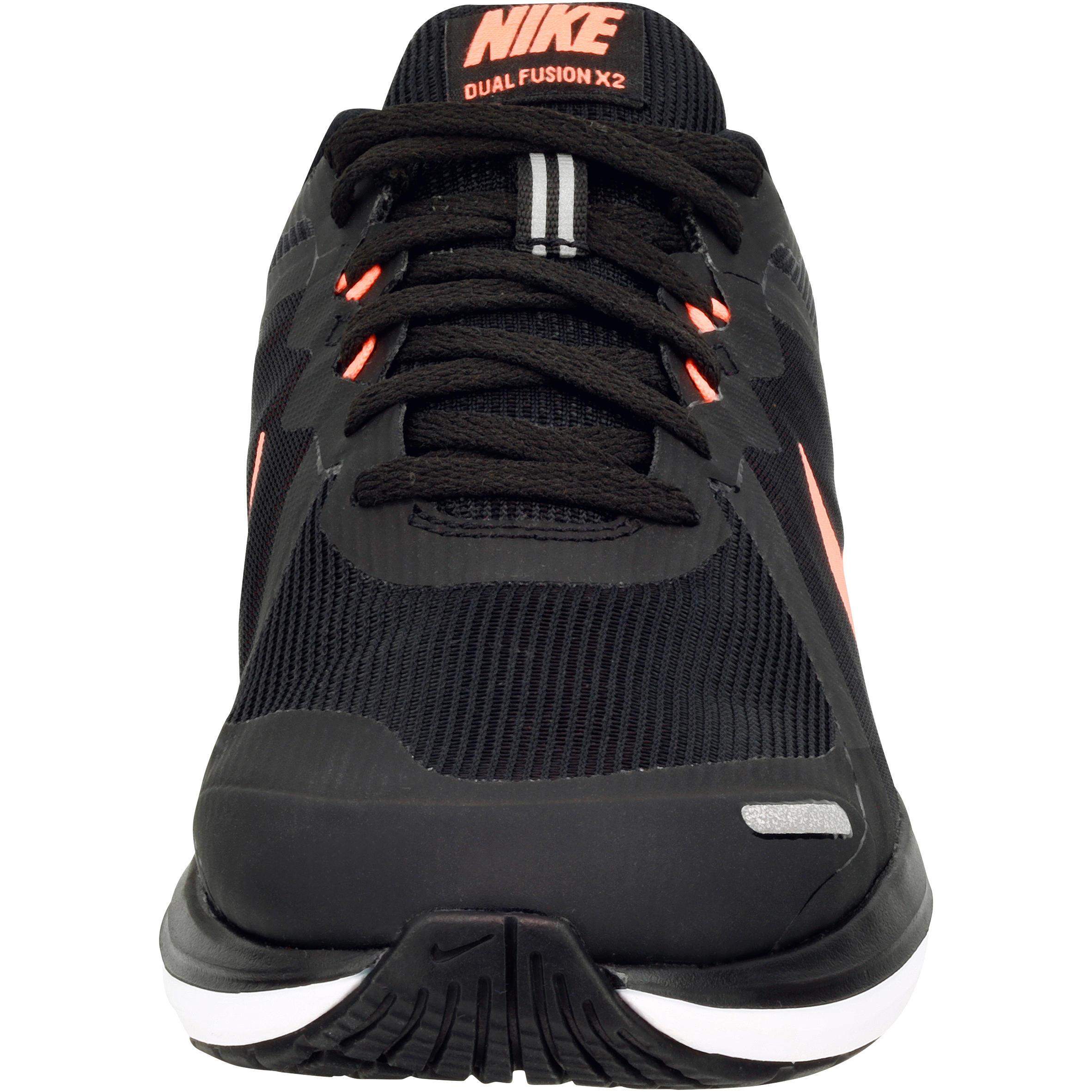 Chaussure Dual Femme Noir Pied Fusion X2 Jogging De Course À Nike pUGqSzMV