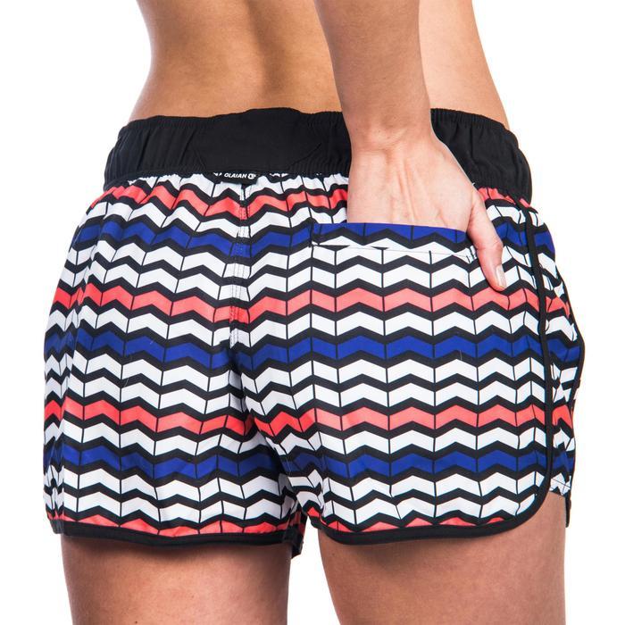 Boardshort mujer TINI RIMA cintura elástica y cordón de ajuste