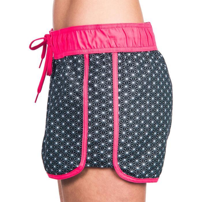 Boardshort mujer TINI MOSAICA con cintura elástica y cordón de ajuste