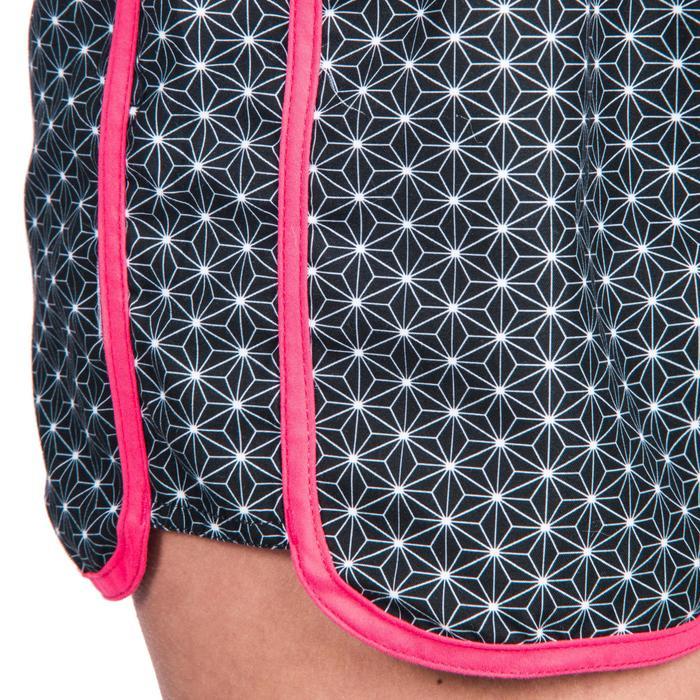 Boardshort femme TINI STREET avec ceinture élastiquée et cordon de serrage - 1418065