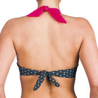 Top de bikini mujer forma push up con copas fijas ELENA MOSAICA