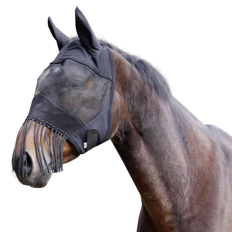 Rovarriasztó Lovaglás - Légymaszk lovaknak, fekete KERBL - Lovaglás