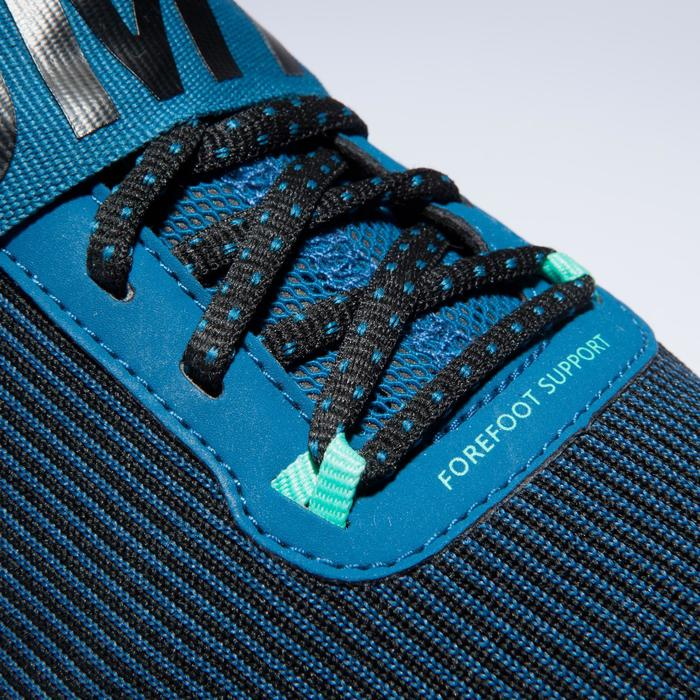 Chaussures fitness cardio-training  500 mid femme bleu et - 1418373