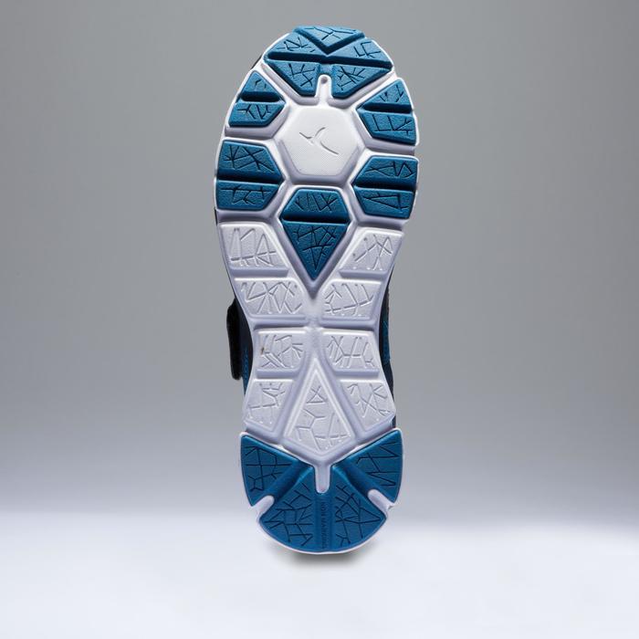 Chaussures fitness cardio-training  500 mid femme bleu et - 1418380