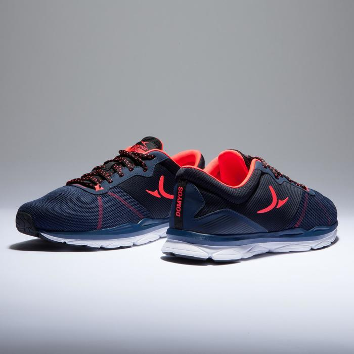 Chaussures fitness cardio-training 500 femme bleu et - 1418391