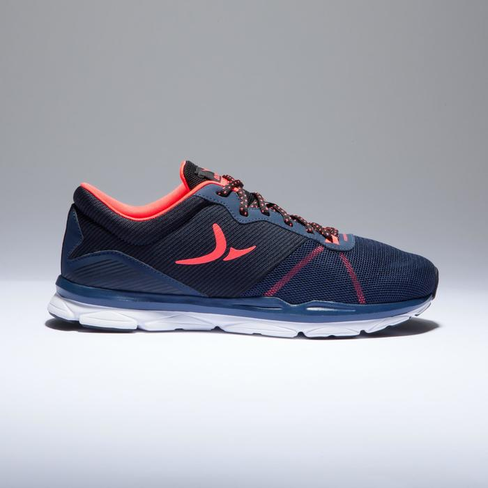 Chaussures fitness cardio-training 500 femme bleu et - 1418394