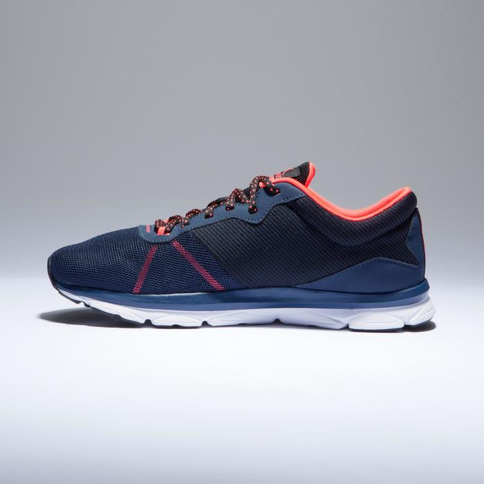 Fitnessschuhe Cardio 500 Damen blau/koralle