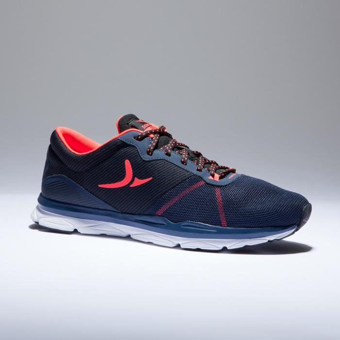 Chaussures fitness cardio-training 500 femme bleu et - 1418398