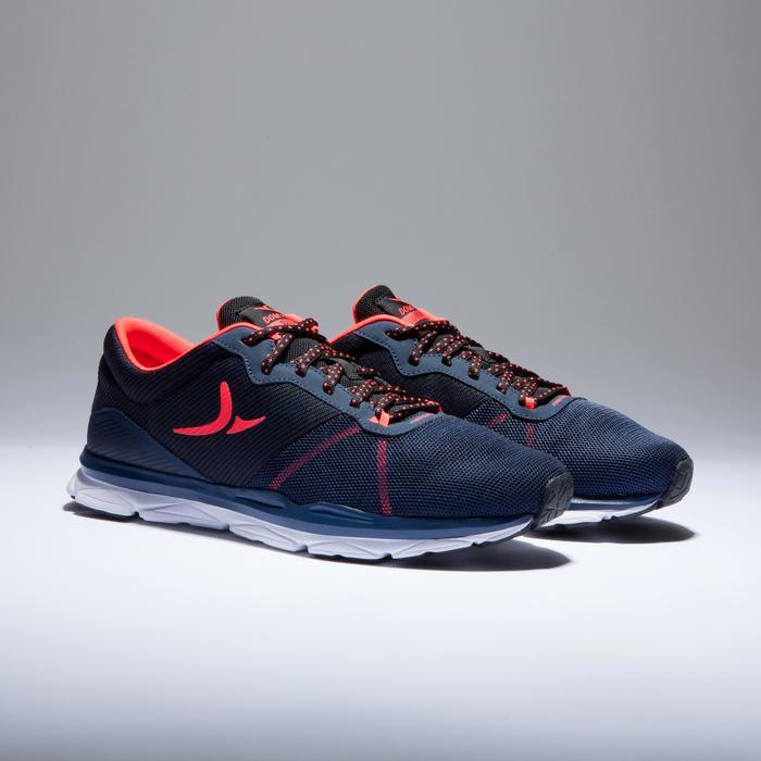 Chaussures fitness cardio-training 500 femme bleu et - 1418401