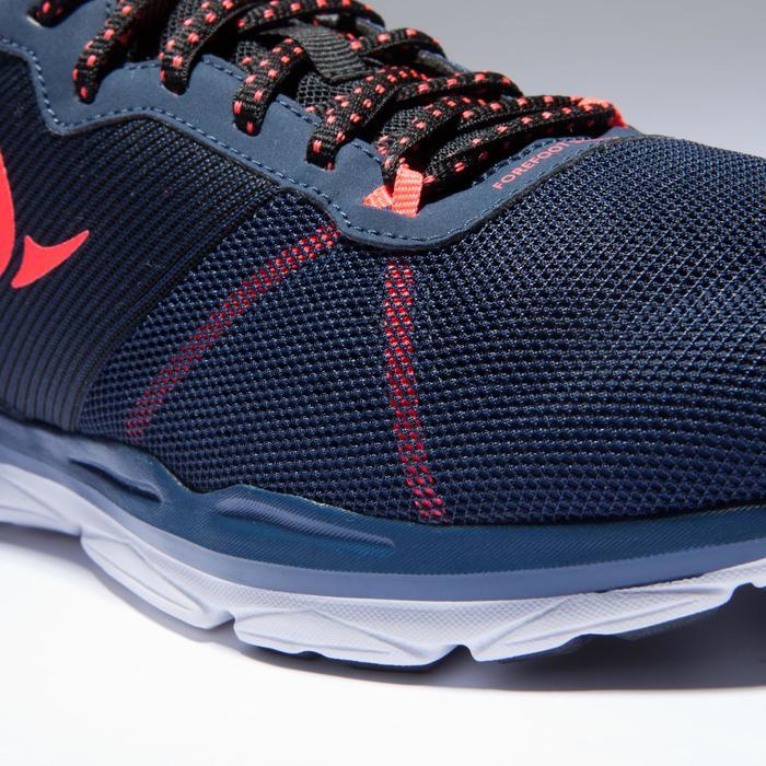 Chaussures fitness cardio-training 500 femme bleu et - 1418402