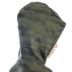 Kindersweater voor de jacht SG500 camouflage