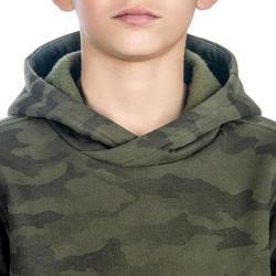 兒童款打獵長袖運動衫SG500-迷彩