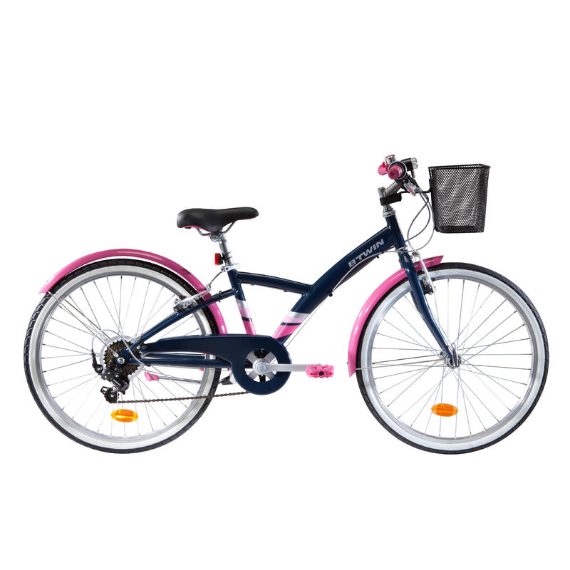 "500 Original 24"" Hybrid Bike – Kids 9–12 Years"