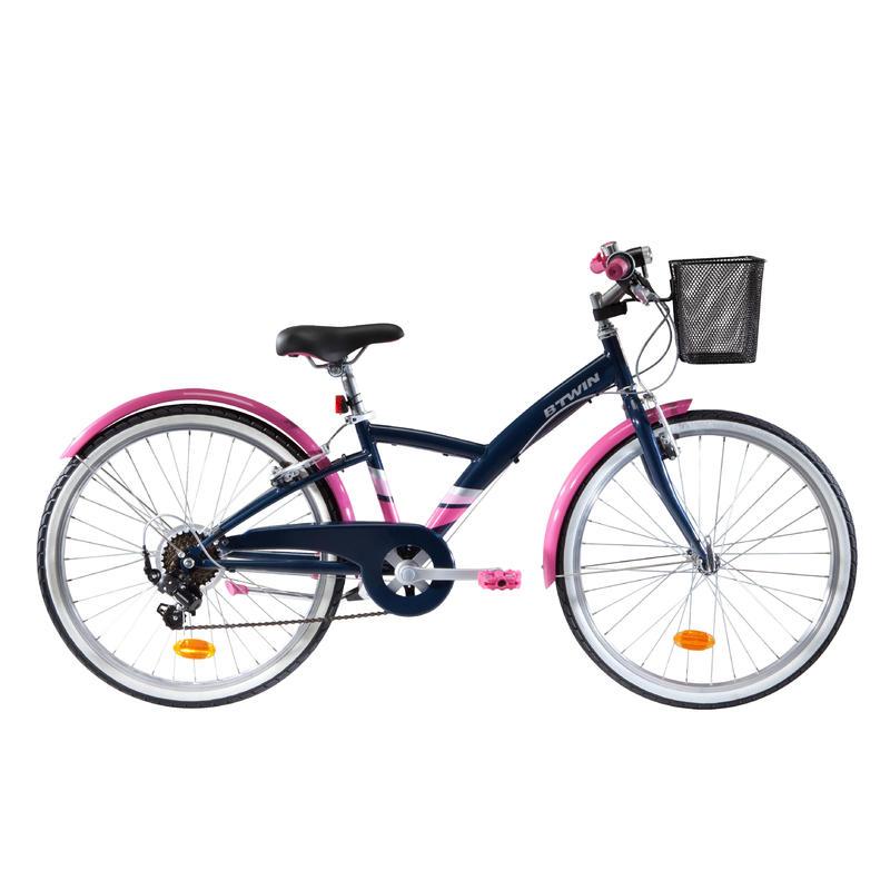 """Kids' 24"""" Hybrid Bike 9-12 Years Original 500"""