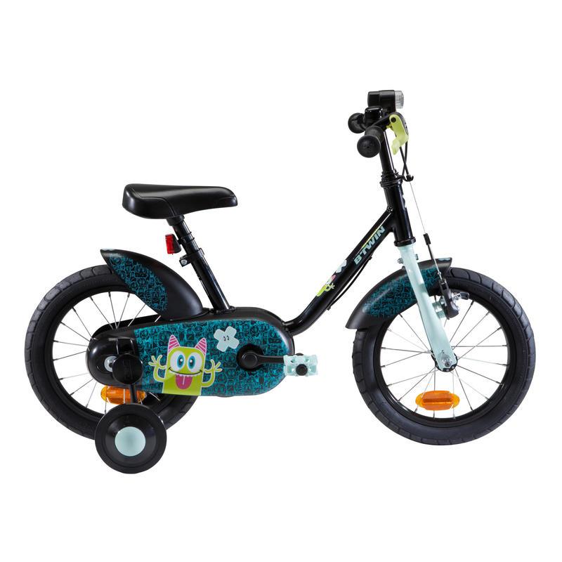 Kids' 14-Inch Bike 3-4.5 Years 500 - Monsters