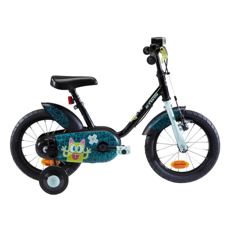 CYKLAR FÖR ATT LÄRA SIG, 3-6 ÅR Cykelsport - Cykel 3-4,5 år 500 MONSTERS BTWIN - Cykelsport