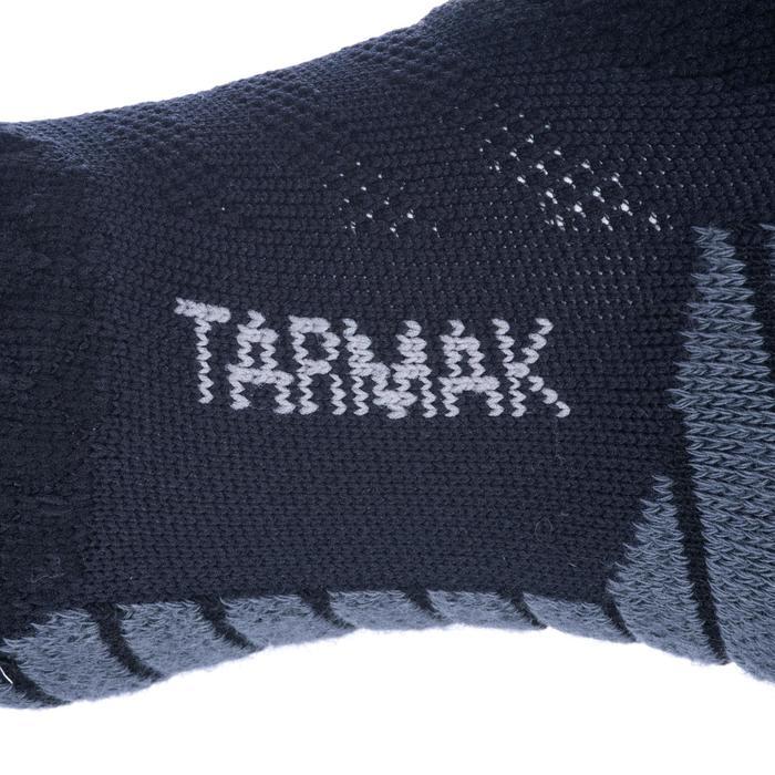 Men's/Women's Mid-Rise Basketball Socks SO900 - Black/Grey