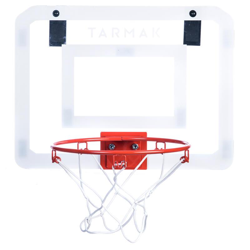 Panier de basket mural ensemble mini B Deluxe pour enfant/adulte à fixer au mur