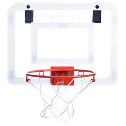Tablero de baloncesto Tarmak set mini B Deluxe transparente