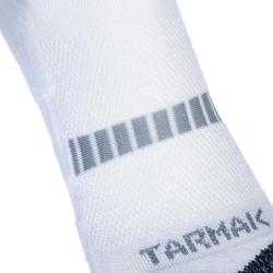 Men's/Women's Low-Rise Basketball Socks 2-Pack SO500 - White