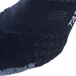 Basketbalsokken voor ervaren heren/dames SO900 mid zwart grijs