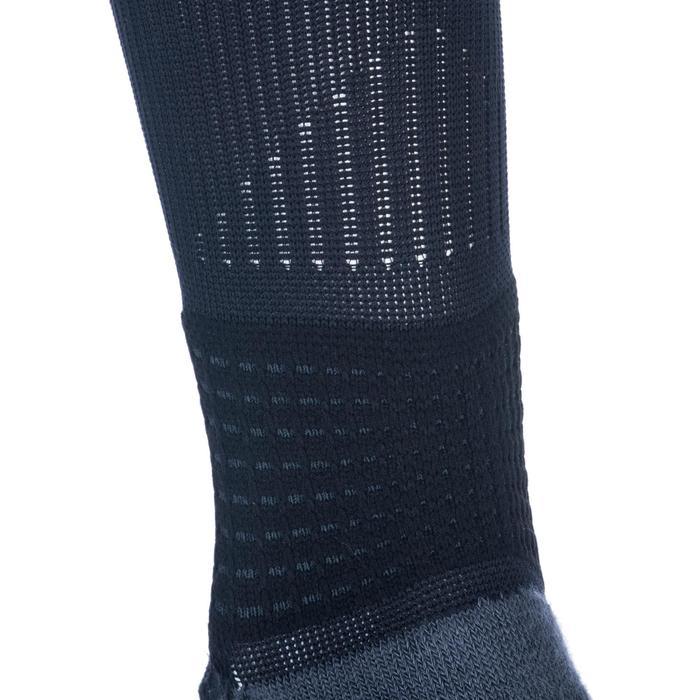 男女通用款中筒籃球襪SO 900-黑灰配色